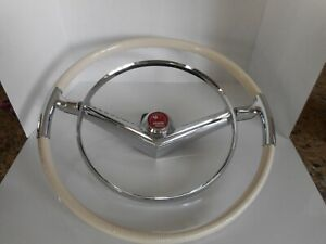 1955 Mercury Accessory Steering Wheel Recast