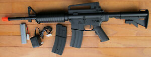 M4A1 Carbine Style Auto Electric Airsoft Gun with Two Magazine $54.00