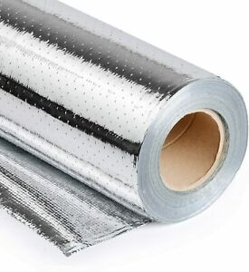 Usep 4ft X 125ft Industrial Grade Radiant Barrier 500 Sqft Roll Perforated