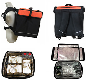 Backpack Delivery Bag Foil Insulated Food Pizza Deliverys For Motorbikes Bikes