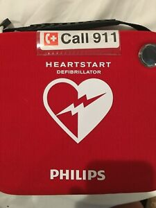 Philips M5066a Heartstart Onsite Aed Defibrillator Never Used Open Case