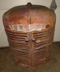 Farmall H Tractor Grill Nose An Emblem An Insert Complete Nose Cone Early Sh Ih