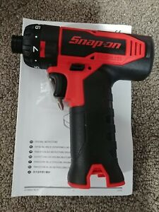 Snap Oncts82514 4 Volt 1 4 Brushless Micro Lithium Screwdrivertool Onlynew