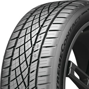 1 New 255 35zr20xl 97y Continental Extremecontact Dws06 Plus 255 35 20 Tire