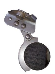 Miller 8175 Fall Protection Stainless Steel Trailing Rope Grab Used Vg