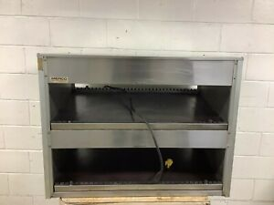 Self serve Hot Food Display Case Commerical 2 Tier Merco 2tsw 3824 Tested