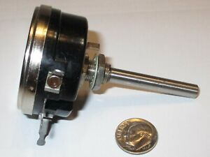 Vintage Wirt Co 75k Ohm Wire Wound Lineartaper Potentiometer Nos