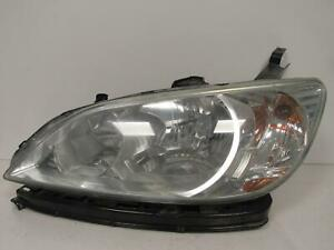 2004 2005 Honda Civic Sedan Driver Lh Halogen Headlight Oem C61l