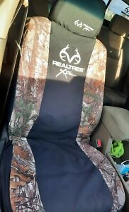 Real Tree Mossy Oak Country High Back Car Seat Cover 2 Pack