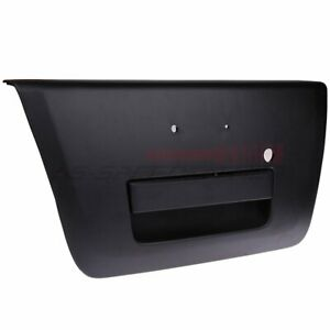 For Nissan Frontier 2005 2012 Tailgate Rear Handle W Emblem Provision Black