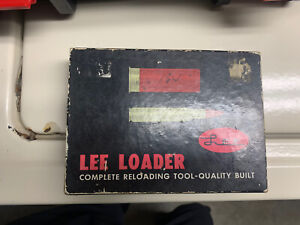 Lee loader shotgun 20ga classic set Reloader 20 Gauge $100.00