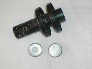Exhaust Insert 2 disc Inserts 7 In Long 4 In Diameter Steel Each
