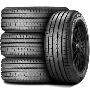 4 New Pirelli Cinturato P7 225 50r17 94w High Performance Tires