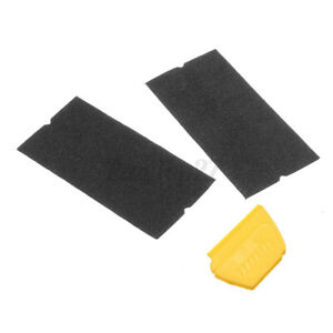 2 Pcs Squeegee 1 Pcs Flannel Cloth For Car Vinyl Wrapping Film Cutting Tools