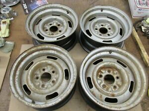1968 Chevy Corvette Ag Code Rally Wheels Gm 15x7 Date 12 21 67 3910799