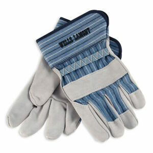Wells Lamont White Mule Leather Palm Work Gloves 224