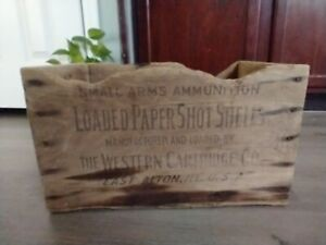 Vintage The Western Cartridge Co. Small Ammunition Loaded Paper Shot Shells $26.00