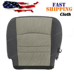 For Dodge Ram 1500 2500 Slt Driver Side Bottom Cloth Seat Cover Gray 2009 2012