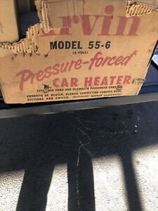 1955 Ford 1955 Plymouth Arvin 6 Volt Car Heater In Box