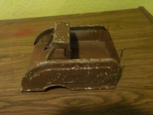Vintage Buddy L Wrecker Truck Bed For Parts