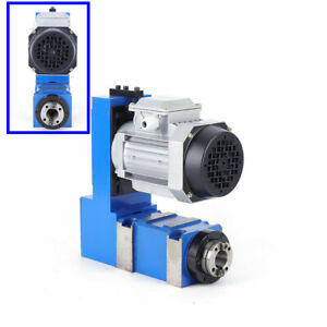 8000rpm Spindle Power Head Unit For Cnc Milling Drilling Boring Machine 370w Us