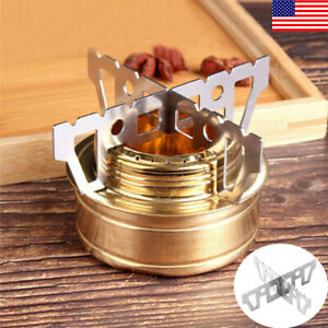 Outdoor Camping Alcohol Stove Stent Pot Trangia Burner Bracket Holder Cook Bbq