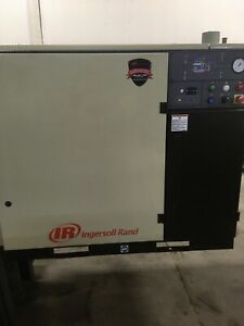 Ingersoll Rand 30 H p Compressor With Air Dryer