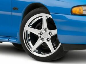 American Muscle Saleen Wheel In Chrome 19x8 5 Rim Fits Ford Mustang 1994 1998