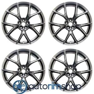 Ford Mustang 2018 2019 19 Oem Staggered Wheels Rims Set Hyper