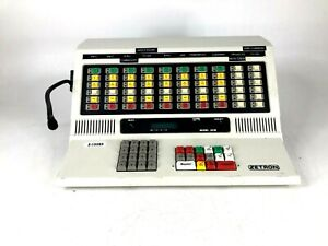 Zetron 4018 Police Fire Radio Dispatch Paging Console Station 901 9351