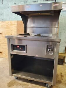 Hatco Commercial French Fry Warmer Fryer Dump Station