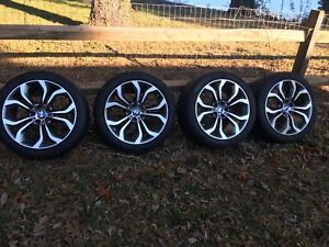 Set Of 4 Bmw 20inch Staggered Wheels For X5 X5m X6 X6m 2008 2014