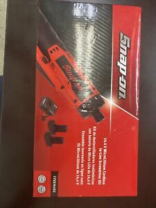 Snap On 14 4 V 1 4 Drive Microlithium Cordless In line Screwdriver Kit red 1 4