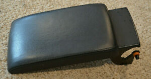 01 02 03 04 Volkswagen Vw Passat Center Console Armrest Pad Authentic Black