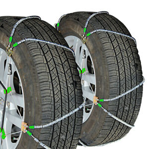 Titan Diagonal Cable Tire Chains Snow Or Ice Covered Roads 10 98mm 235 75 15