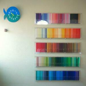 Felissimo 500 Color Pencils For 500 Wall mounted Cases Used Set