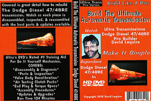 Dodge Diesel Trucks 48re Automatic Transmission Rebuild Dvd