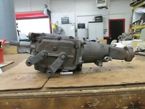 1968 Gm Chevy Saginaw 3 Speed Transmission Great Condition 3925647 3860042