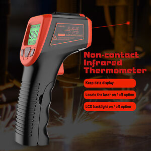 Non Contact Lcd Digital Infrared Thermometer Temperature Ir Gun Industrial Us