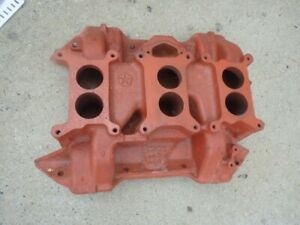 Mopar 413 440 Six Pack Intake Cast Iron Date 12 23 69 Used 2946276