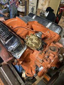 426 Wedge Complete Engine Rebuilt Date 10 1 66 Dodge Plymouth