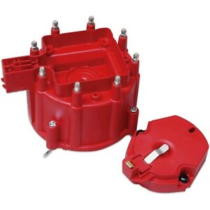 Msd Ignition 8416 Distributor Cap And Rotor Kit Fits 87 90 Chevy Pontiac Gmc