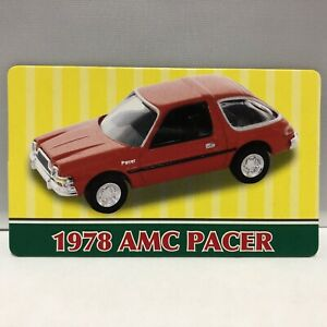 Card Only Motor Max Trading Card 1978 Amc Pacer