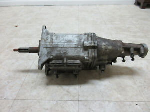 1960s Gm Chevy Muncie M20 4 Speed Transmission Chevrolet A