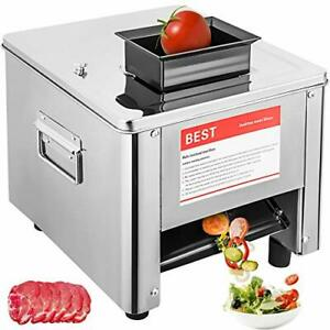 10mm Electric Slicer Machine Commercial Meat Stainless Steel 10mm Slicer