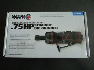 Matco Tools 75 Hp Straight Die Grinder Mt4880 Air Tool
