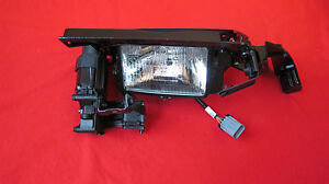 New Oem 1991 1996 Saturn S Coupe Left Pop up Headlamp Headlight Assembly