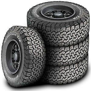 4 Bfgoodrich All terrain T a Ko2 Lt 265 75r16 123 120r E 10 Ply At A t Tires