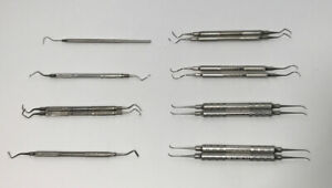 Lot Of 13 Used American Eagle Dental Instruments Nice Assortment Please Read