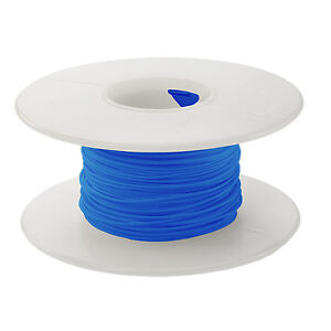 28 Awg Kynar Wire Wrap Ul1422 Solid Wiremod Type 100 Foot Spools Blue New